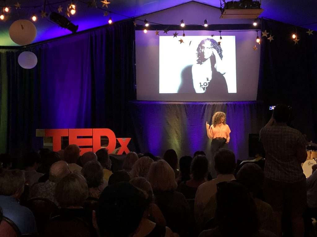 Aden Nepom at TEDx Mt Hood
